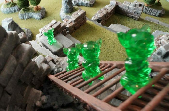 Crawlspaces & Critters: Edible gummies for tabletop battle maps