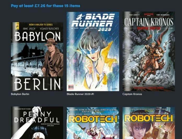 Titan Comics Bundle deal