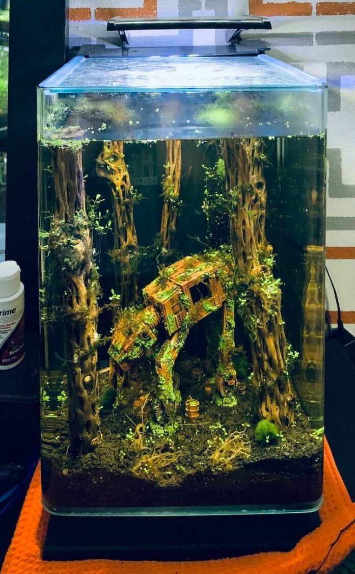 AT-AT fish tank