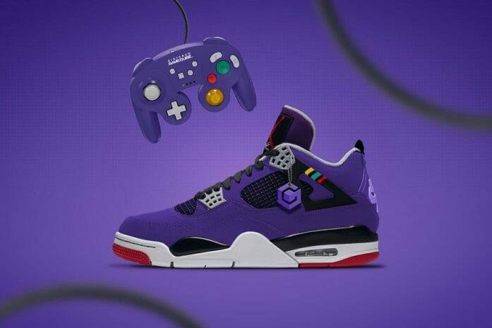 Concept GameCube x Nike Air Jordan 4