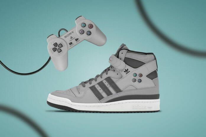 Concept PlayStation x Classic Adidas