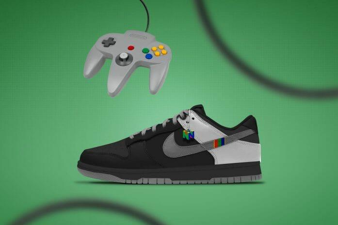 Concept Super Nintendo 64 x Nike Dunks