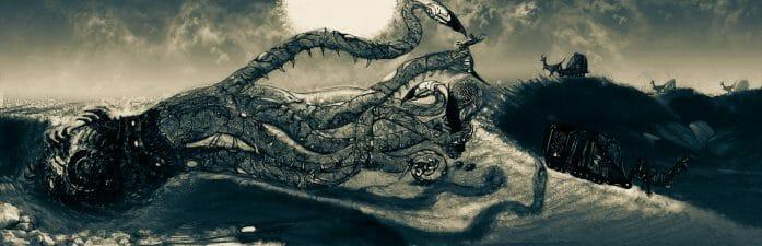 Sand Kraken by ezeleolos