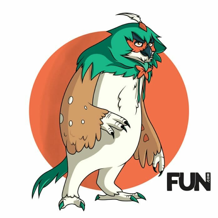 Owlbear & Decidueye