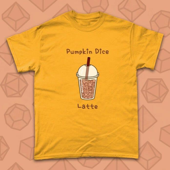 Pumpkin Dice Latte