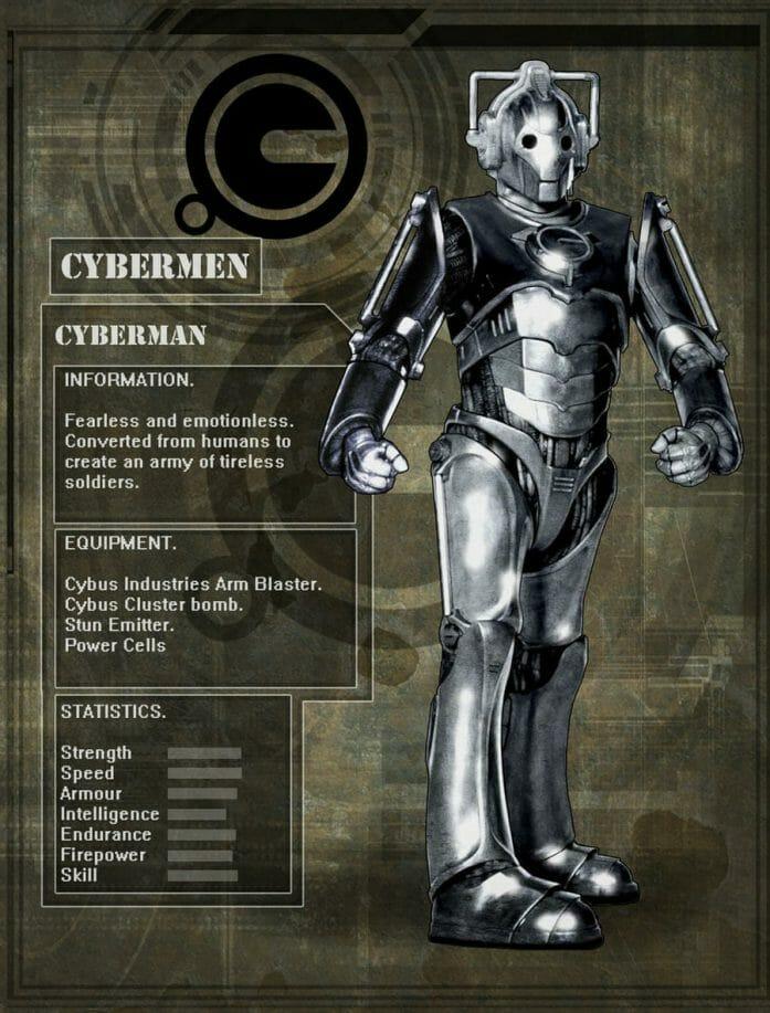 Cybermen by DarkAngelDTB