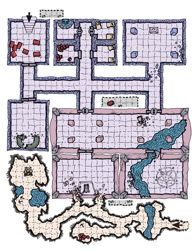 Lazy DM's Companion map