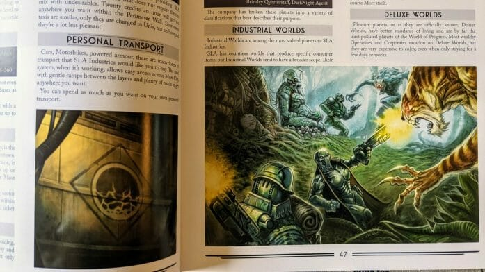 A review of SLA Industries 2nd edition