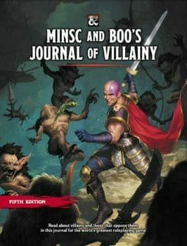 Minsc and Boo's Journal of Villainy
