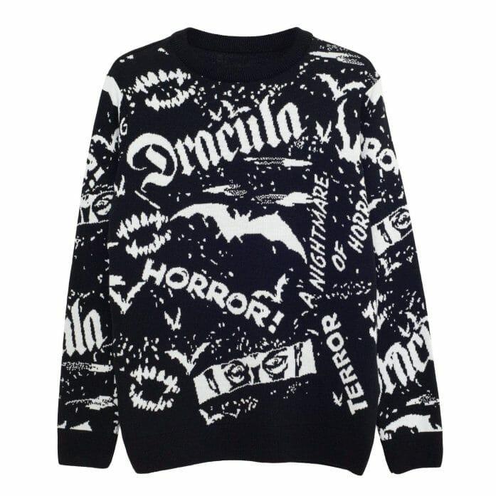 Dracula knitted jumper