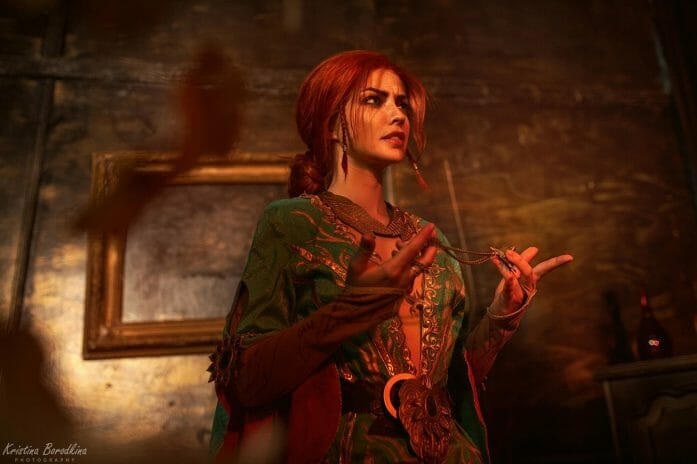 The Witcher cosplay: Triss Merigold and Philippa Eilhart
