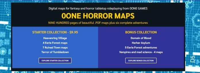 0one Horror Maps